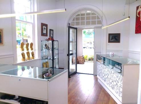 Inside Andrea Spicer Shop